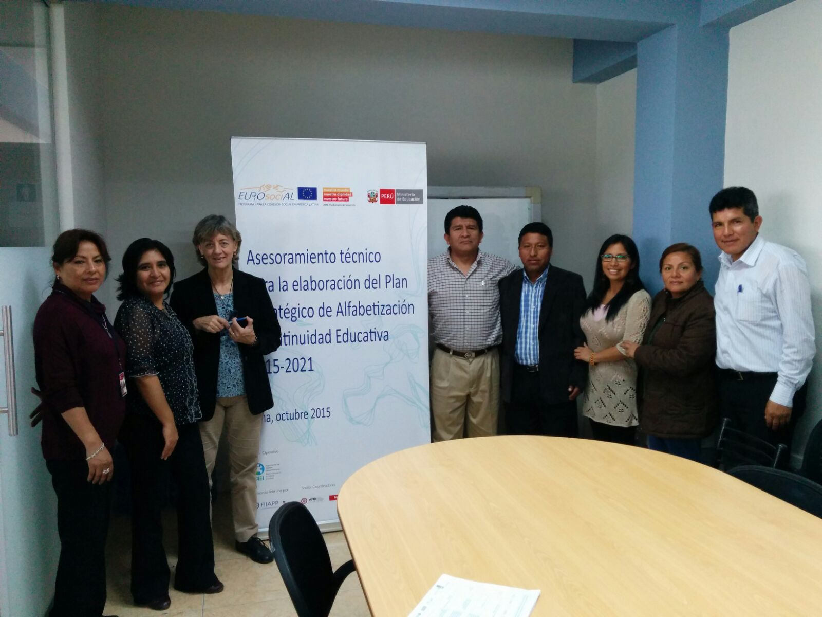 EUROsociAL supports preparation of Peru's 2015-2021 Strategic Plan for the National Literacy and Continuing Education Programme